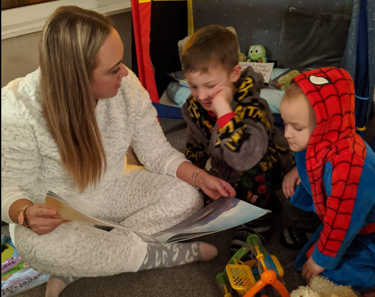 Nursery introduces bedtime stories